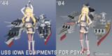 【MMD】武士式アイオワ艤装 for サイキョー式