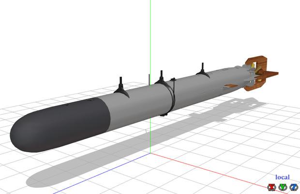 91式航空魚雷(テスト版2)UPしました。 / asado さんのイラスト ...