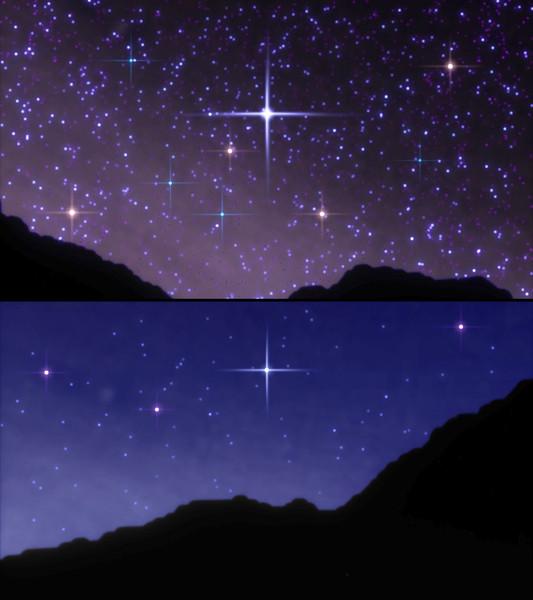 【MMD】星空もどき 性懲りもなく Ver.4【配布】