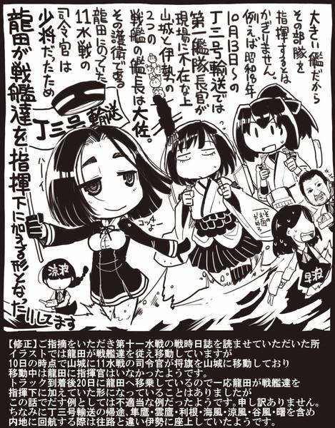 【艦これ】龍田先生指揮する【修正分追加】