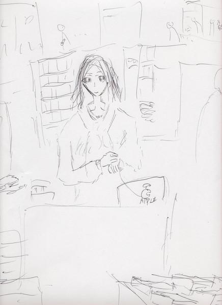 【SUITS/スーツ season2 1話】に出て来る書店の店員さん