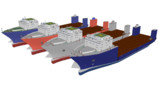 半潜水式重量物運搬船【モデル配布】