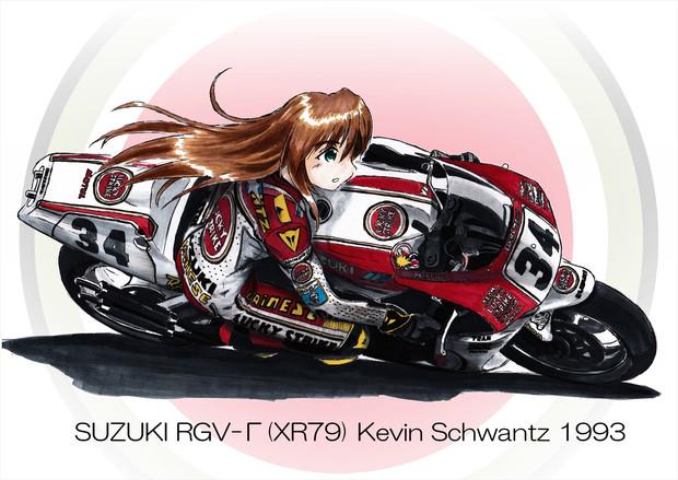 SUZUKI RGV-Γ 1993