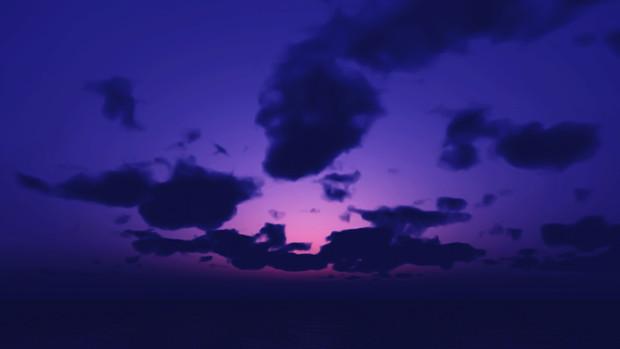 【MMDステージ配布】夜明け前 UU8【スカイドーム】