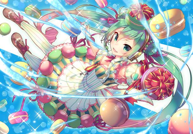 【初音ミク】夢見るマカロンガール