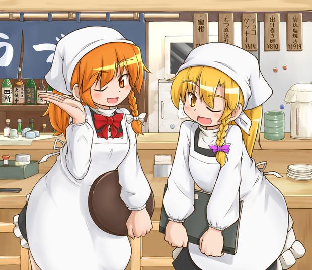 小料理屋の看板姉妹☆