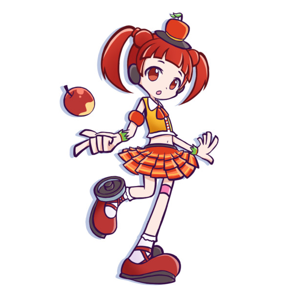 ぷよぷよのりんごの誕生日モチーフ
