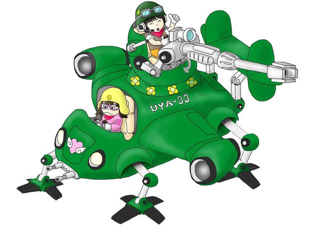 推力偏向式垂直離着陸機