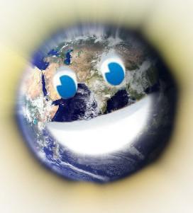 地球なりますねぇ!