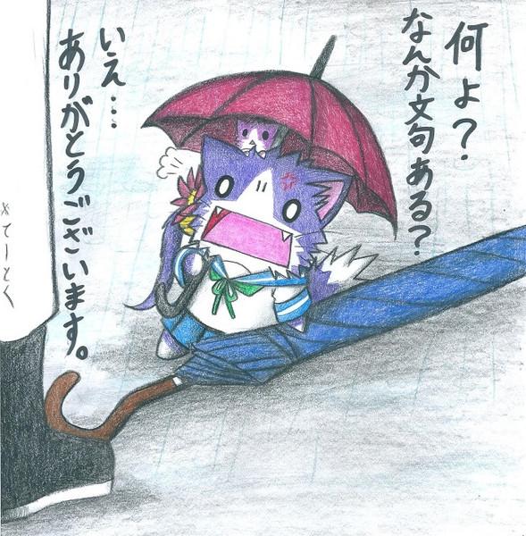 梅雨限定・曙ネコ