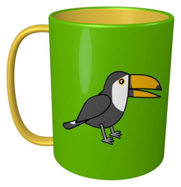 オオハシのマグカップ
