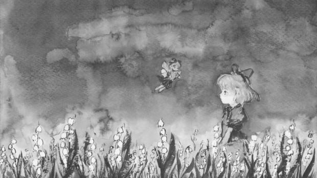 夜の無名の丘