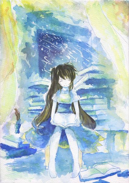 水彩少女2