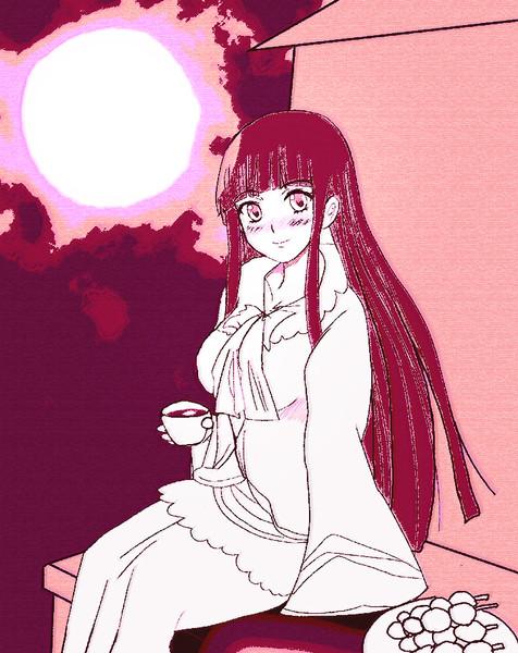 姫様と月見酒