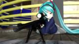 Sniping Nanaha1052G【第六回ガンアクションinMMD】