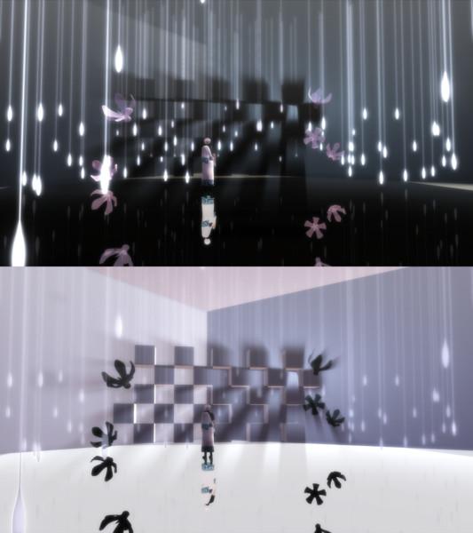 雨の雫ステージ【ステージ配布】