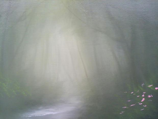靄を流れる