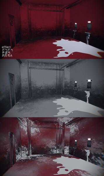 【MMDステージ配布】紅蓮&浸食ステージ