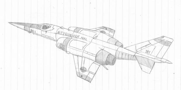 超音速実験機