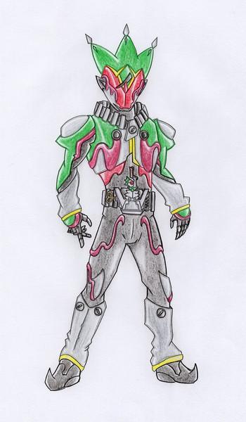 オリジナル/仮面ライダードゥーケ/オープンマグナム