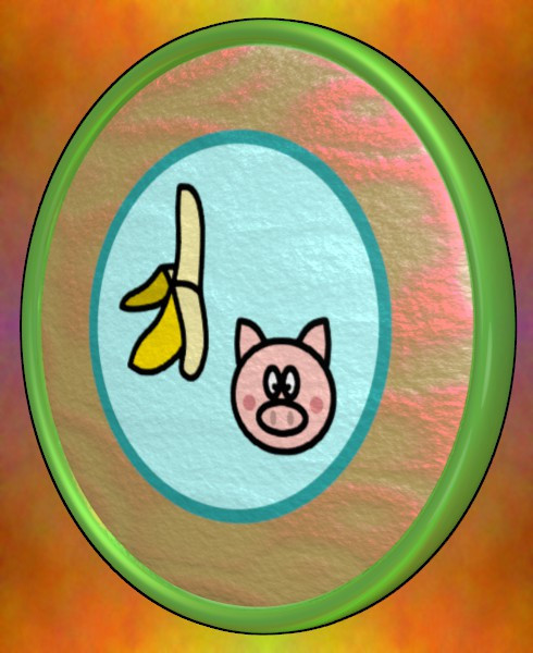 バナナと豚のパールコイン