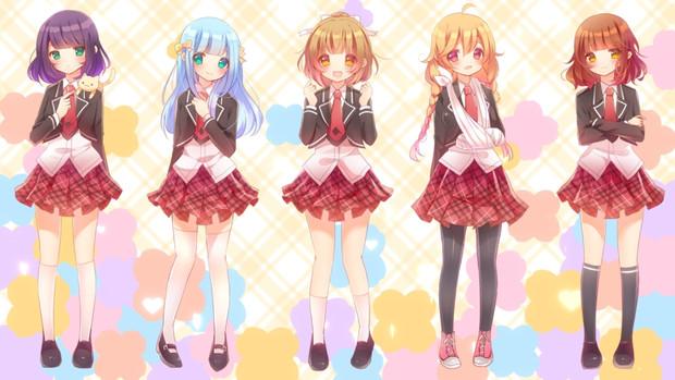 【あんハピ♪OP】PUNCH☆MIND☆HAPPINESS【5人で歌ってみた】
