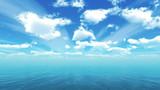 【MMDステージ配布】涼やかな青空 YY2【スカイドーム】
