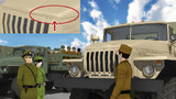 【更新】U-4320軍用トラックセット