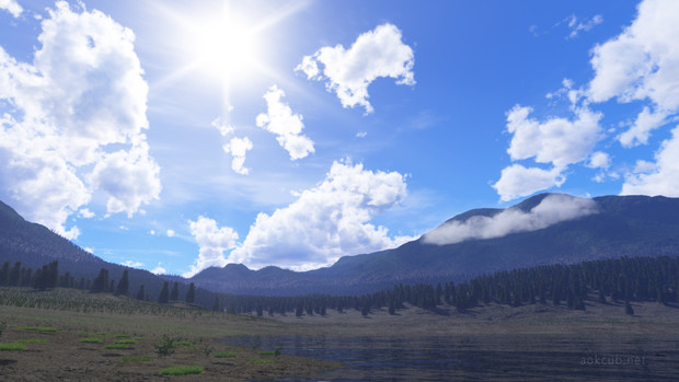 The First Scene with Terragen 4