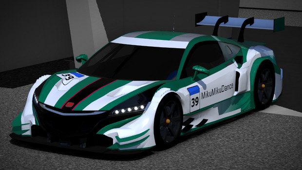 【MMD-OMF6】NSX CONCEPT-GT 更新 配布