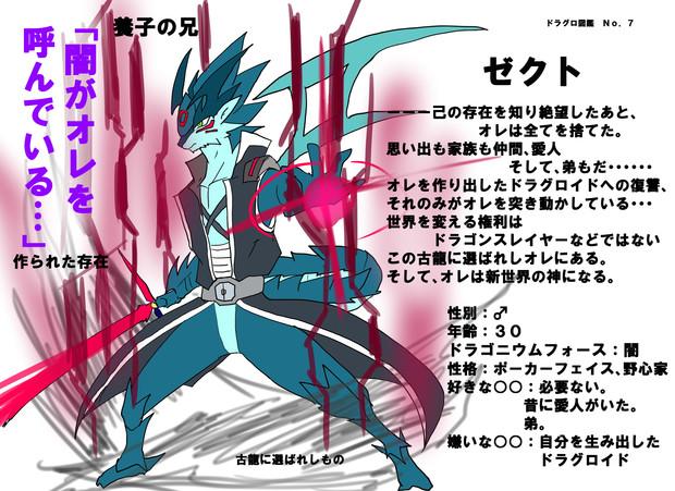 ドラグロ図鑑No.7 ゼクト