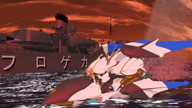 【MMD艦これ】陽炎型駆逐艦、ネームシップの陽炎よ!