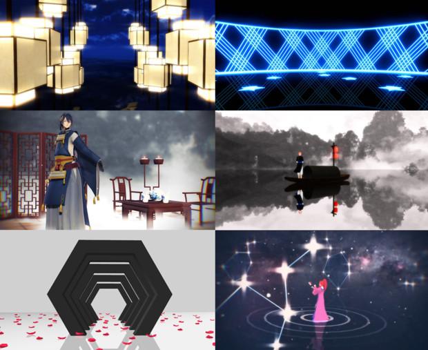 【配布終了】ruxu式ステージ6本【数量限定】