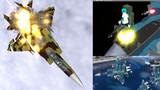 【MMDモデル配布】F-15J_分解用パーツ+射出座席 +SU-33迷彩