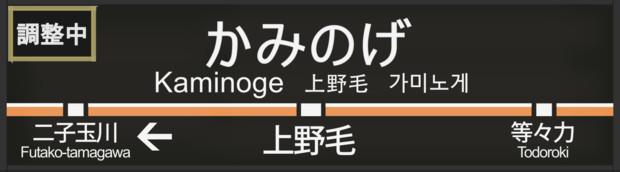 東急大井町線 上野毛駅