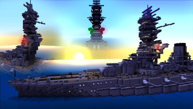 戦艦の建造に挑戦! Minecraft Xbox One