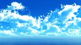 【MMDステージ配布】厚みのある雲 ZZ4【スカイドーム】
