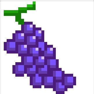 ブドウ ドット絵
