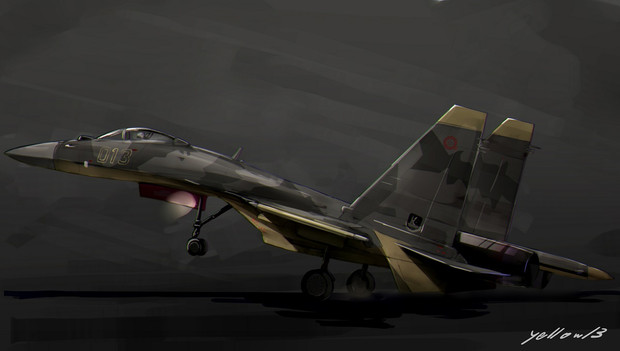 su-37 らくがき