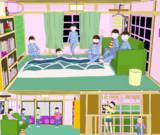【MMDおそ松さん】六つ子部屋【配布】