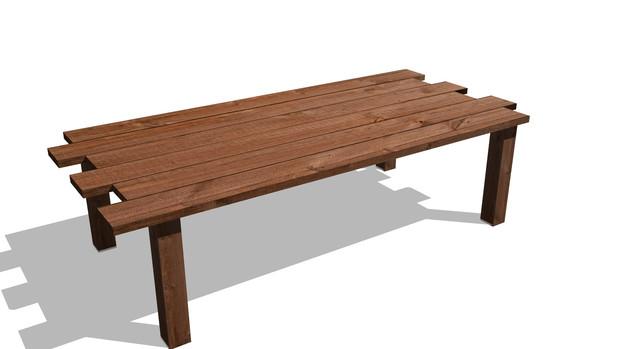 木製テーブル05