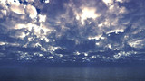 【MMDステージ配布】重い曇り空 ZZ6【スカイドーム】