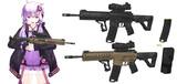 【MMDモデル配布】5.56mm自動小銃
