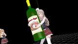 [MMD]ワインボトル【アクセサリ配布】