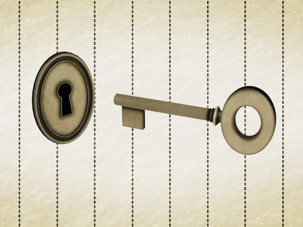 鍵と鍵穴 / azyaza さんのイラスト