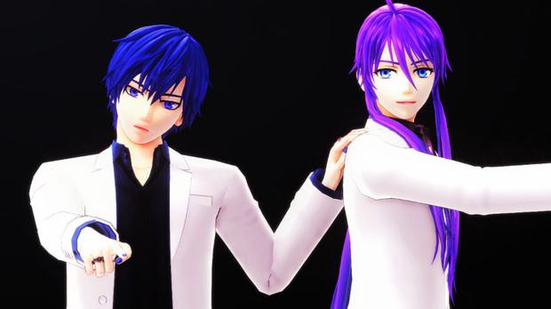 【MMD】 KiLLER LADY 【びよ式KAITO & Gakupo】【画質向上版】