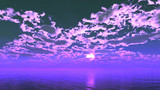 【MMDステージ配布】すみれ色の空 TA7【スカイドーム】