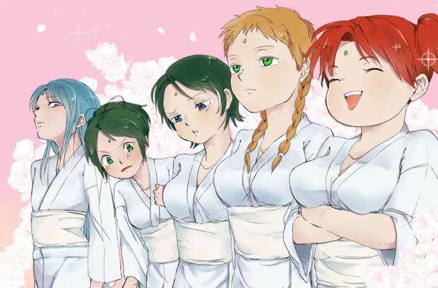 可憐なる五姉妹