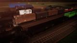 【MMD鉄道貨物フェスティバル】行き交う貨物、待つ貨物【MMD風景画祭】
