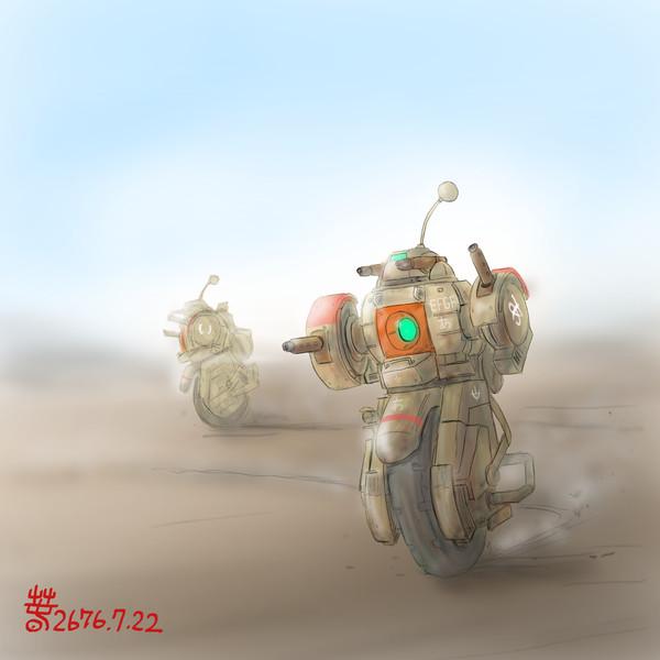 高機動装輪強襲型MS「ユニボール」